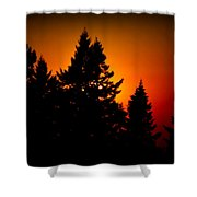 Nw Evening L Shower Curtain