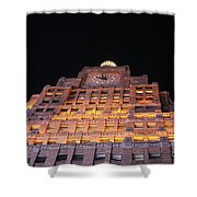 Ny Clock Tower Shower Curtain