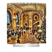 Ny Library Foyer Shower Curtain