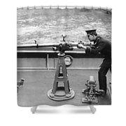 Ny Police Boat Patrol Shower Curtain