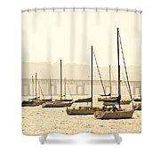 Nyack New York  Shower Curtain