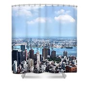 Nyc 2  Shower Curtain