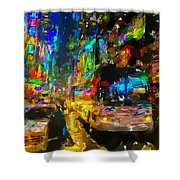 Nyc 3 Shower Curtain