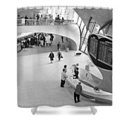 Nyc Airport, 1965 Shower Curtain