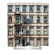 Nyc Building  Shower Curtain