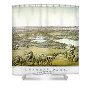 Nyc Central Park, C1859 Shower Curtain