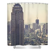 Nyc - Empire State Building Shower Curtain