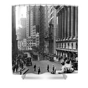 Nyc Financial District Shower Curtain