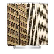 Nyc Highrises Shower Curtain