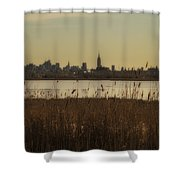Nyc Landscape Shower Curtain