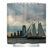 Nyc Pirates Shower Curtain