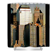 Nyc - Tower Jungle Shower Curtain