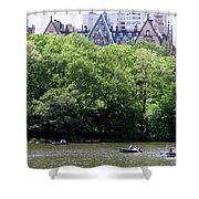 Nyc Urban Oasis Shower Curtain