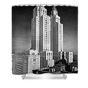 Nyc Waldorf-astoria Hotel Shower Curtain