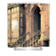 Nyc Walkup Phone Case Aspect Shower Curtain