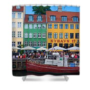 Nyhavn 17 Shower Curtain