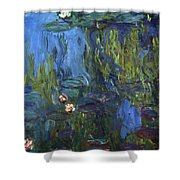 Nympheas Shower Curtain by Calude Monet