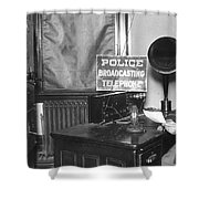 Nypd Radio Station, Wlaw Shower Curtain