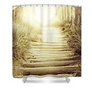 Nz Walkway  Shower Curtain