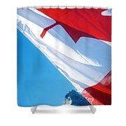 O Canada Shower Curtain
