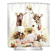 O Divine Mercy Shower Curtain