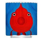 O Fish Shower Curtain