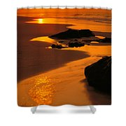 Oahu North Shore Shower Curtain