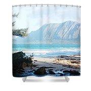 Oahu Sight Shower Curtain
