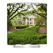 New Orleans Oak Alley Plantation Shower Curtain