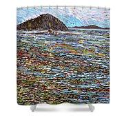 Oak Bay - Low Tide Shower Curtain