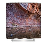 Oak Creek Reflection Shower Curtain
