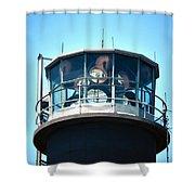 Oak Island Lighthouse Beacon Lights Shower Curtain