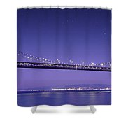 Oakland Bay Bridge Shower Curtain