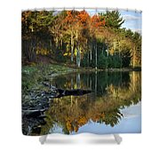 Oakley Corners State Forest Shower Curtain