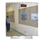 Oakwood Exhibit 3 Shower Curtain