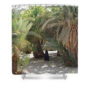 Oase Rest Desert Sinai Egypt Shower Curtain