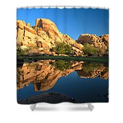 Oasis Reflections Shower Curtain