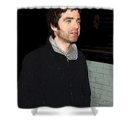 Oasis's Noel Gallagher Shower Curtain