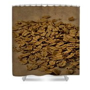 Oatmeal For Breakfast Shower Curtain