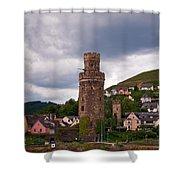 Oberwesel Am Rhein Shower Curtain