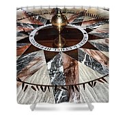 Giant Pendulum Shower Curtain