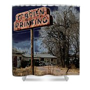 Obrien Printing Shower Curtain