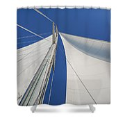 Obsession Sails 1 Shower Curtain