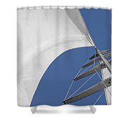 Obsession Sails 10 Shower Curtain