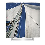 Obsession Sails 2 Shower Curtain