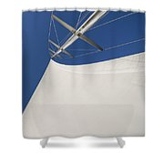 Obsession Sails 4 Shower Curtain