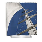 Obsession Sails 5 Shower Curtain