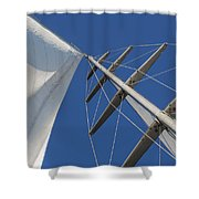 Obsession Sails 6 Shower Curtain