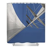 Obsession Sails 8 Shower Curtain