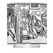 Obstetrical Chair Shower Curtain